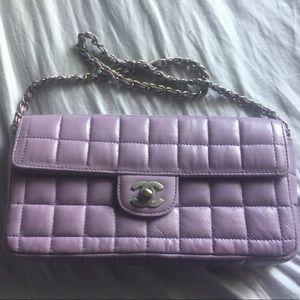 Lilac Chanel Flap bag